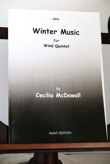 McDowall C - Winter Music for Wind Quintet
